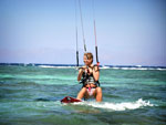 Outdoor activities – Kitesurfing